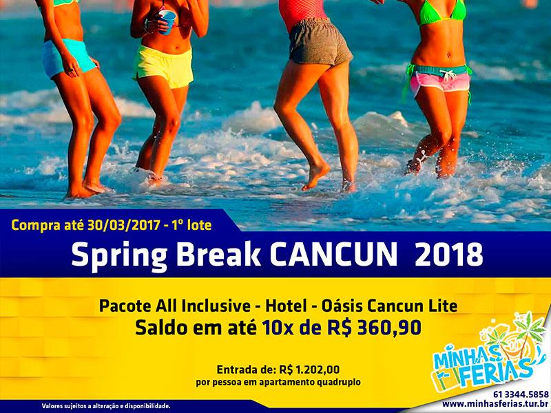 Spring Break Cancun – Minhas Férias