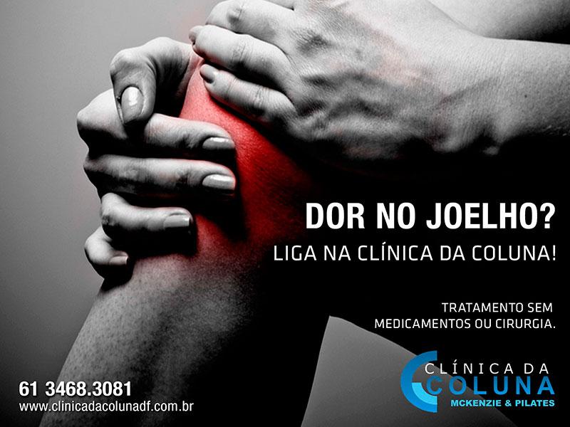 Campanha Clínica da Coluna – Dor no Joelho