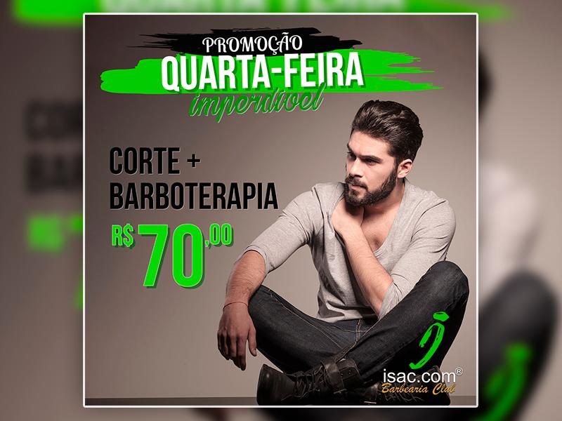 Promoção Quarta-Feira Imperdível – Barbearia Isac.com