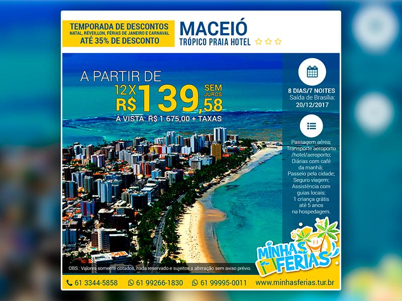 Promoção Pacote Maceió – Minhas Férias