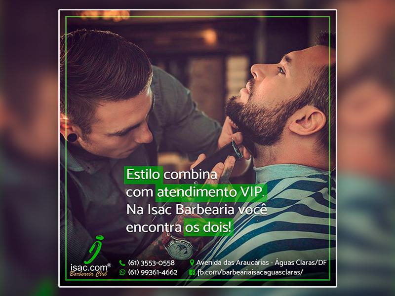 Peças Institucionais – Barbearia Isac.com